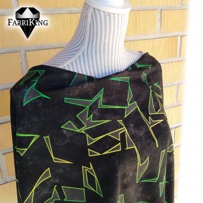 Cool green, trikoo (single jersey)