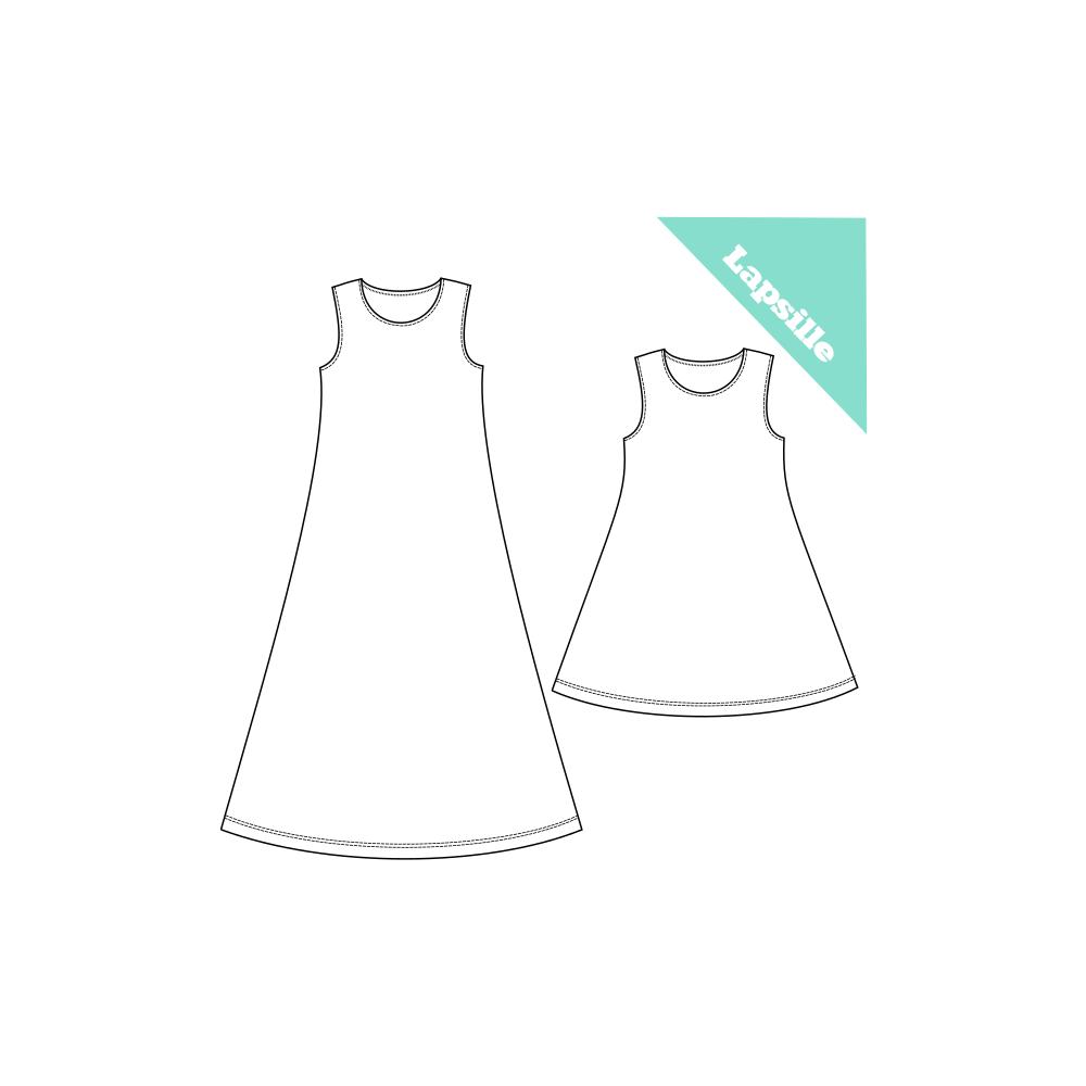 PuuhakasPaja: Hihaton mekko Salli