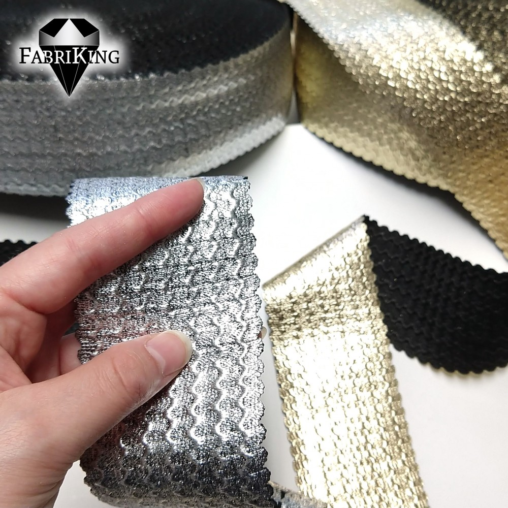 Kuminauha, metalliväri 60 mm