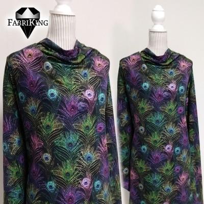 Peacock glitter, trikoo