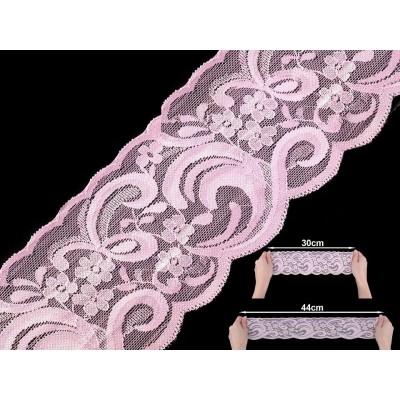 joustopitsinauha 90 mm, vaaleanpunainen