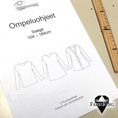 PuuhakasPaja: Paita-tunika-takki Saaga (104-164)