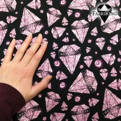 Diamond rain black pink, luomutrikoo