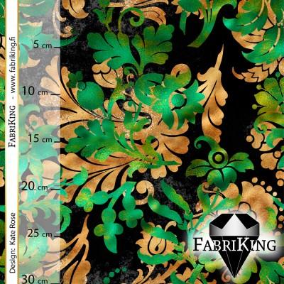 Jungle flower green