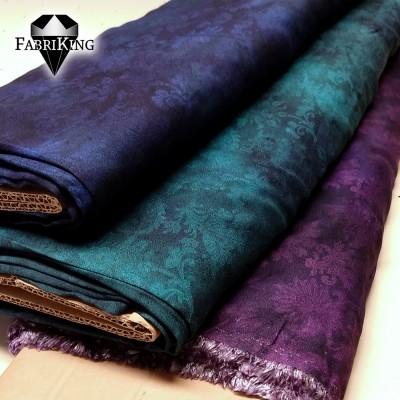 Flower forest -viskoosit: blue, green, violet
