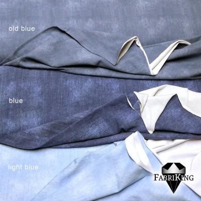 Jeanslook joustocollege: old blue, blue, light blue