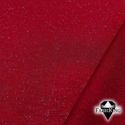 bambucollege + glitter, royal red