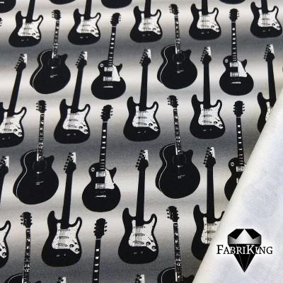 Guitars metallic small, joustocollege