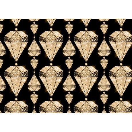 A6 postikortti: FabriKing diamond gold