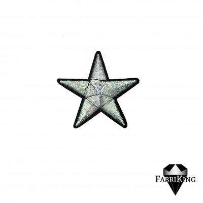 Silitysmerkki tähti, pastelli vihreä