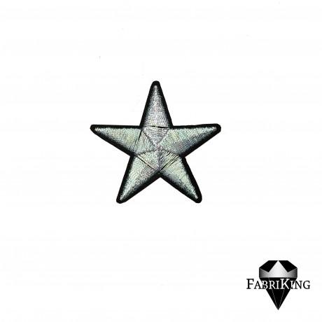 Silitysmerkki tähti (4,8 cm), pastelli vihreä
