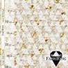 Shine gold white, puuvillasatiini
