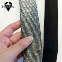 Kimallekuminauha 40mm, musta