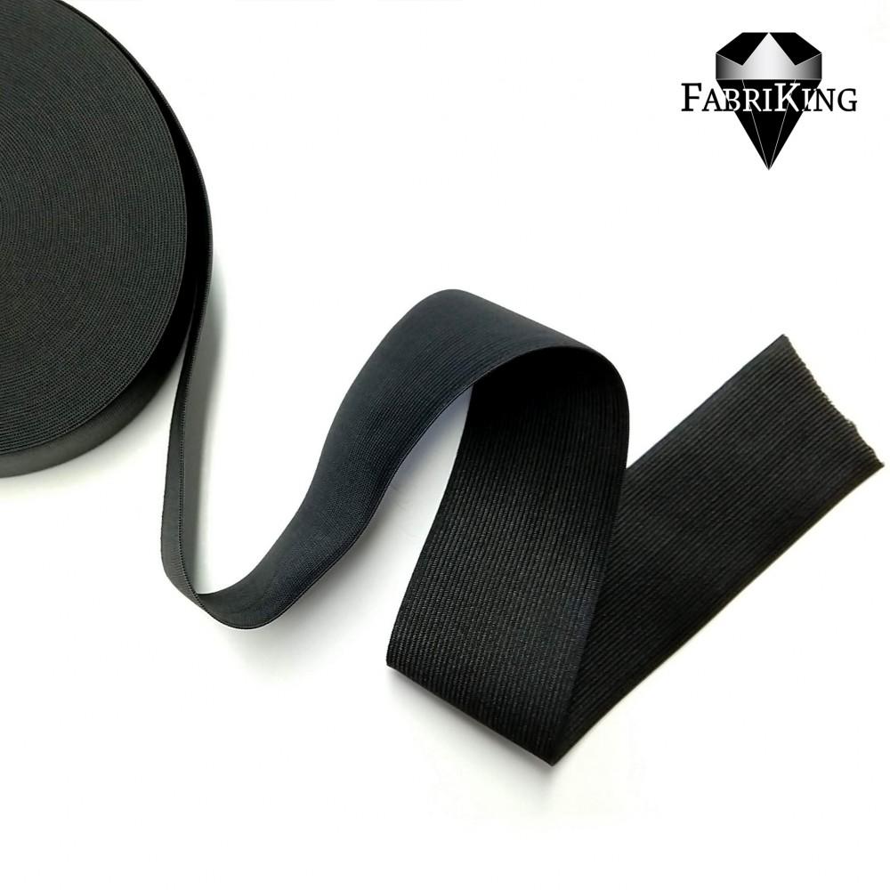 Kuminauha 60 mm, musta