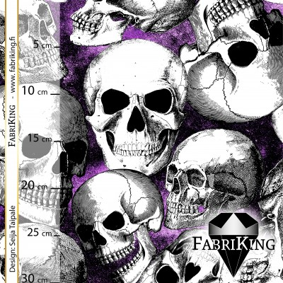 Skull Party purple