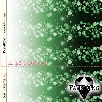 Paneelitrikoo: Bubbles green