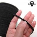 Pehmeä kuminauha 4 mm, musta