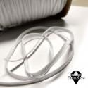 Pehmeä kuminauha 4 mm, valkoinen