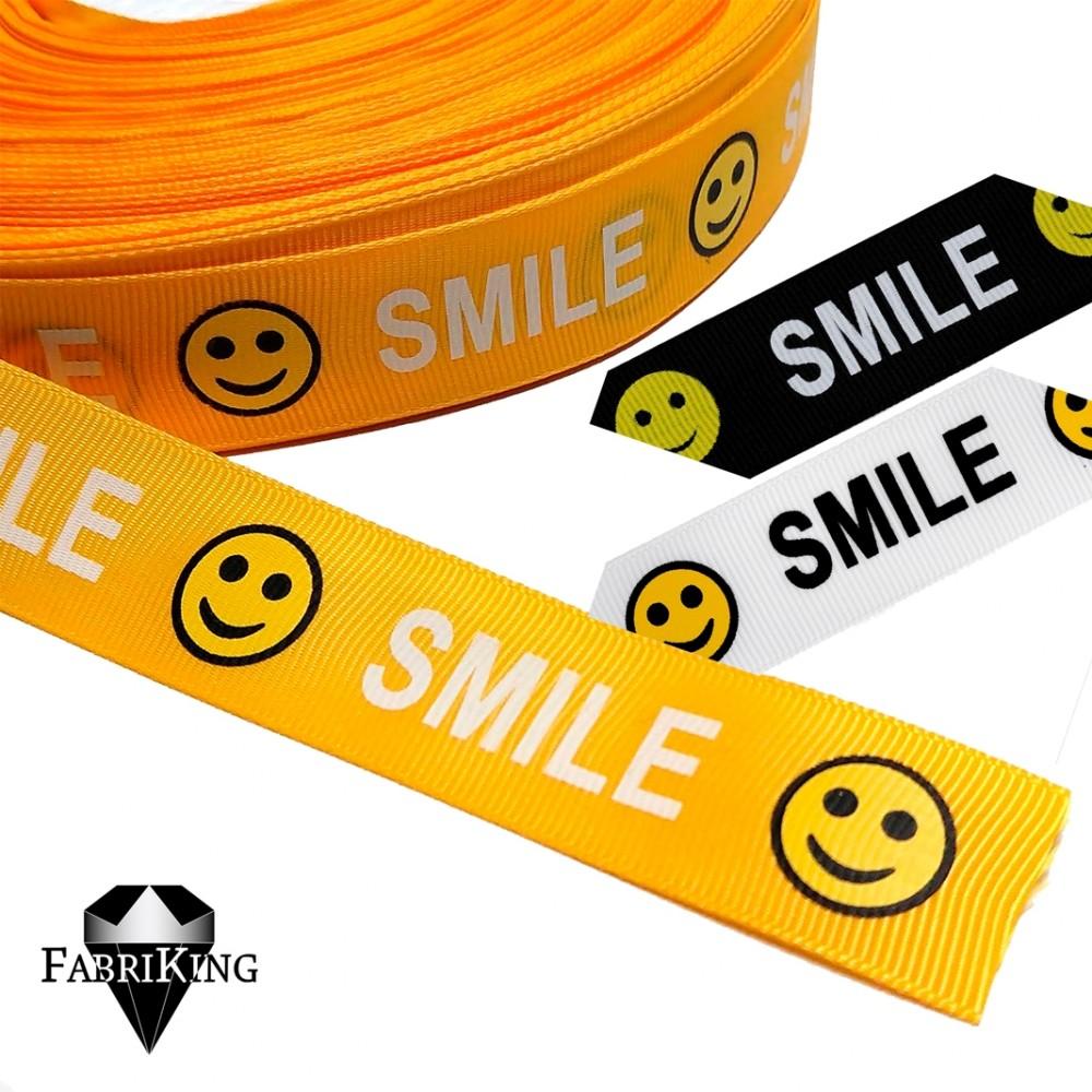 "Koristenauha ""Smile"" 24 mm"