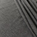 single jersey, grey granite